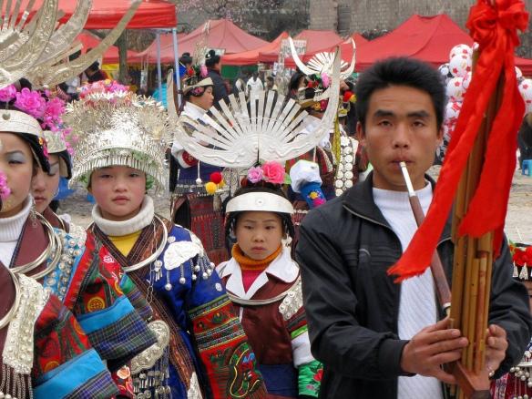 Miao flute festival